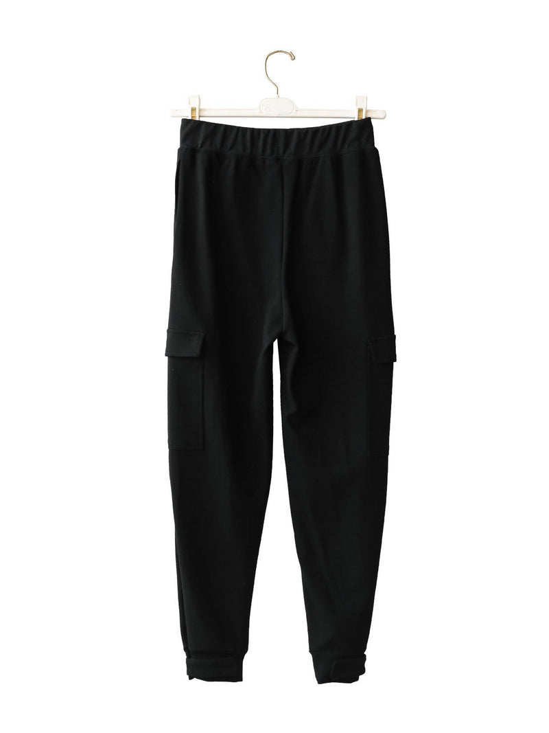 VELCRO DETAIL JOGGER TROUSERS