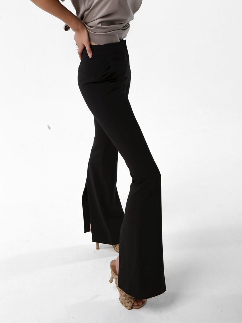 BACK SLIT DETAIL TROUSERS