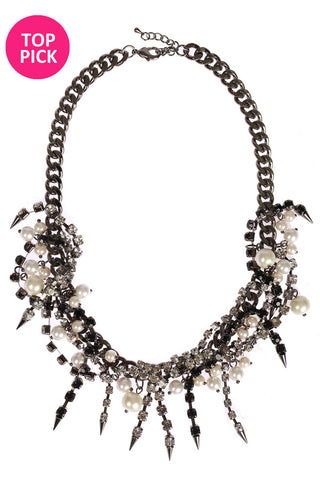CRYSTAL ZIMMERMAN NECKLACE