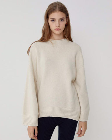 LOOSE FIT CASHMERE JUMPER