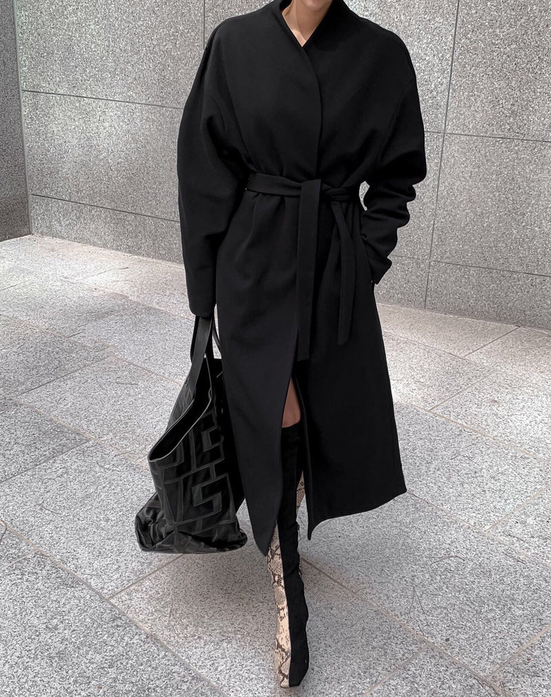 LUXE OVERSIZED ROBE COAT