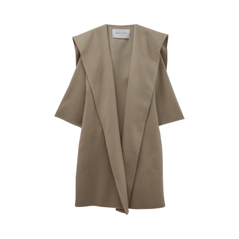 LUXE SHAWL COLLAR BELTED CASHMERE COAT