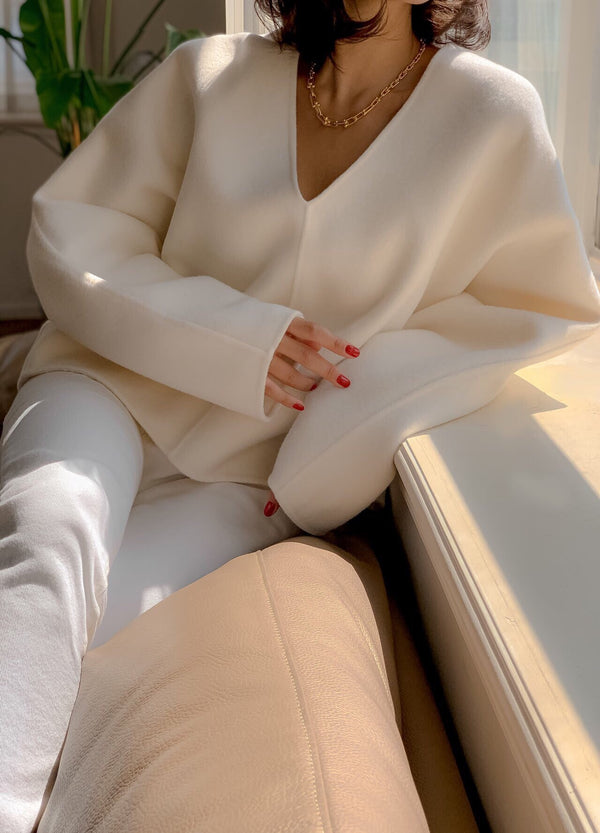 LUXE CASHMERE COCOON KNIT