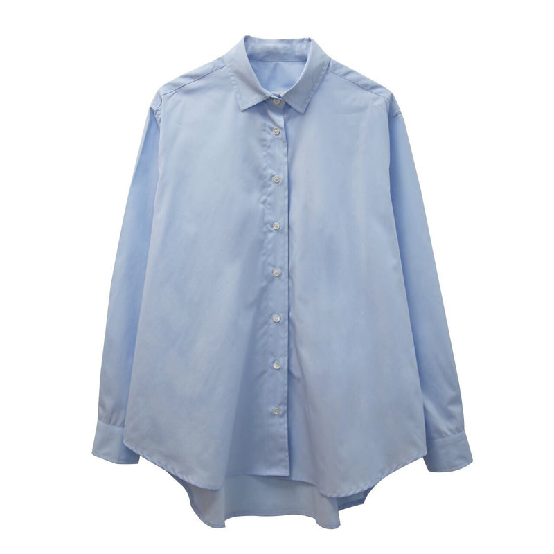 LUXE CLASSIC BUTTON-UP SHIRT