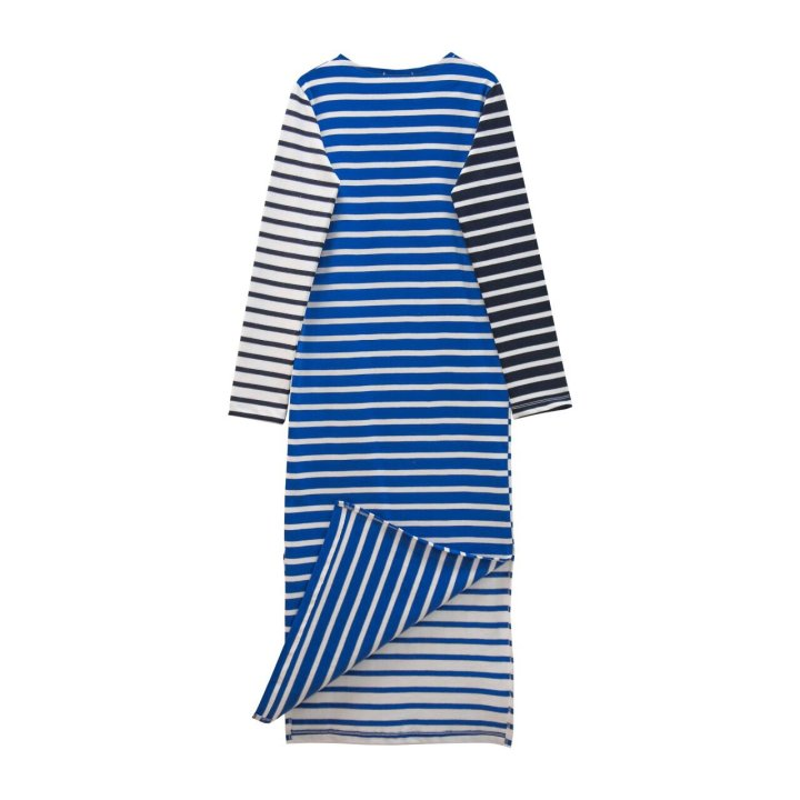 STRIPED COLOR BLOCK MAXI