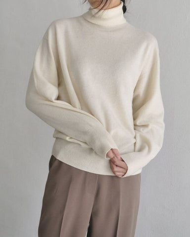 [EDITOR'S PICK] CASHMERE TURTLE NECK
