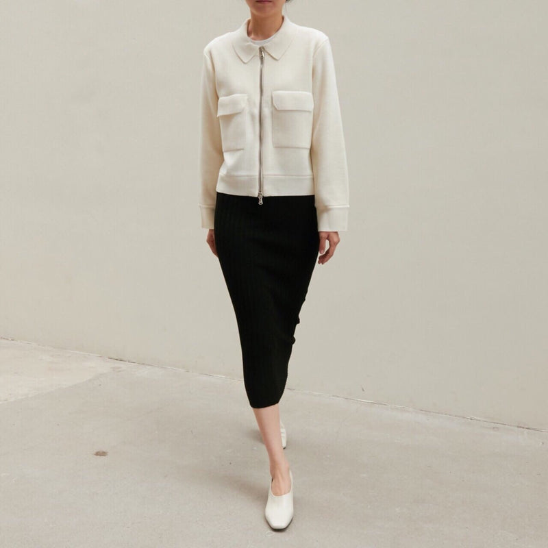 LUXE WOOL KNIT JACKET