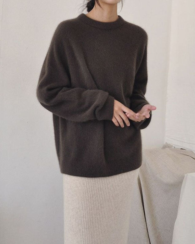 RACOON OVERSIZED KNIT JUMPER