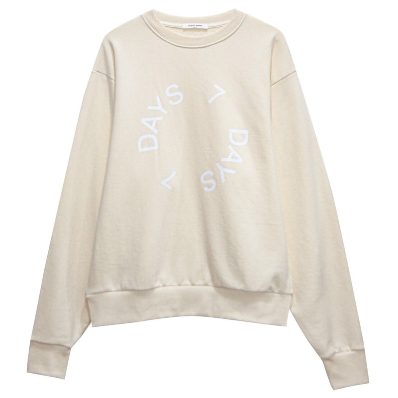 DAYS PRINTED COTTON SWEATSHIRT
