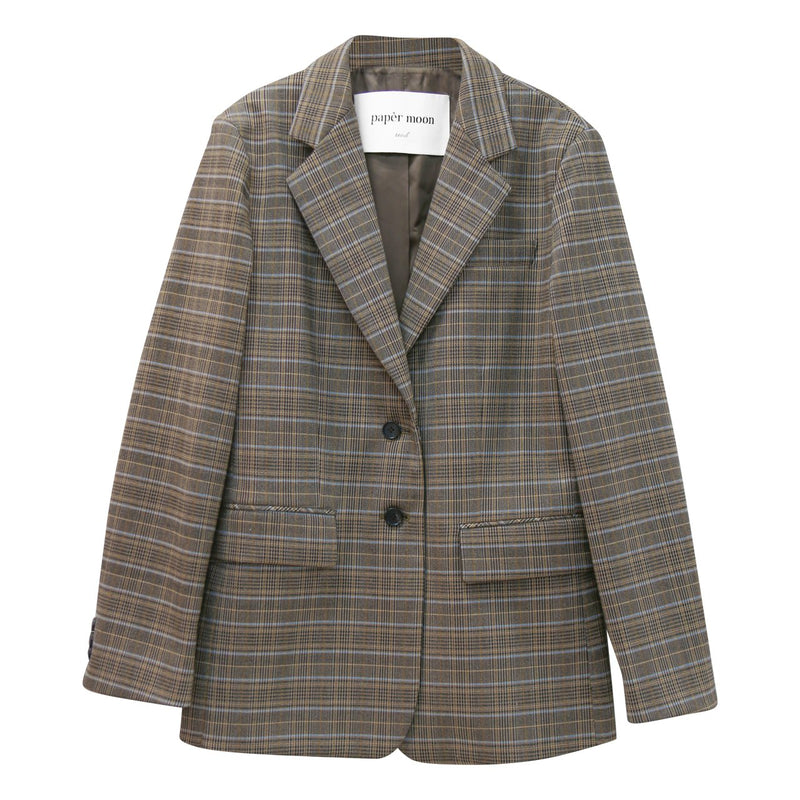 [SPECIAL PRICE] GLEN CHECK JACKET