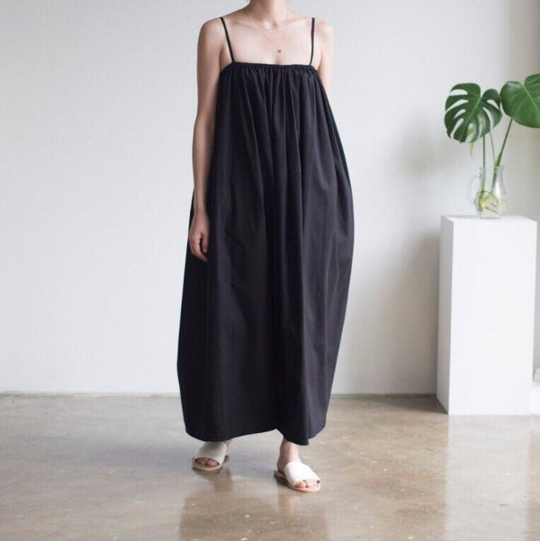 LUXE SHIRRED MAXI DRESS