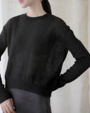 SHEER BABY ALPACA KNIT