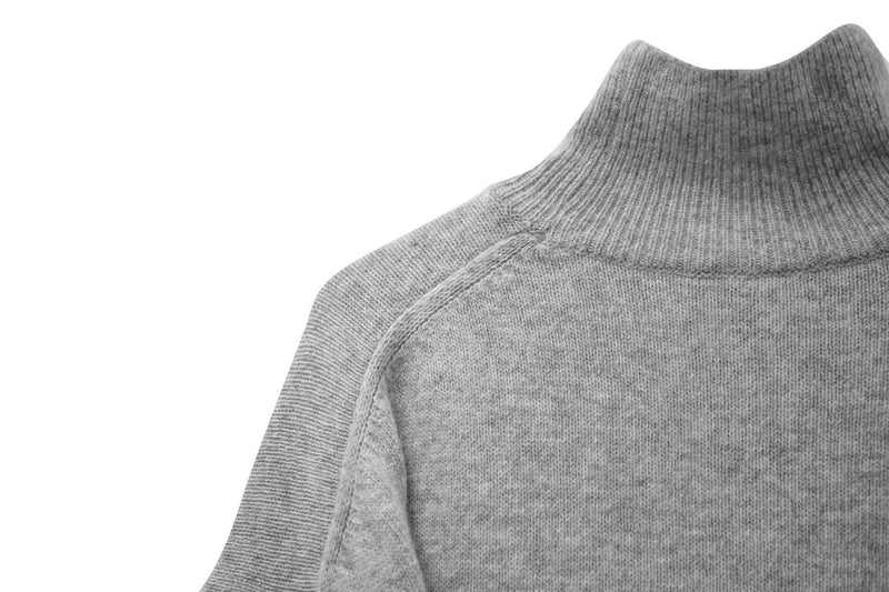 BABY CASHWOOL TURTLENECK KNIT