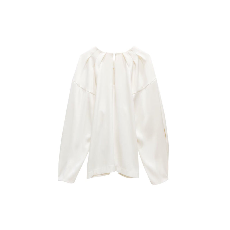 PUFF SLEEVE COCOON BLOUSE