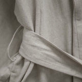 LUXE LINEN ROBE - 2 COLORS