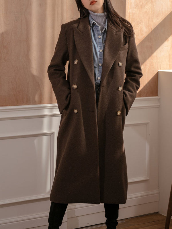 LONG FITTED COAT