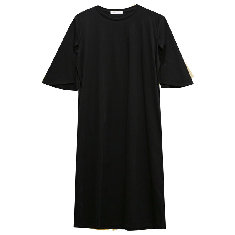 BELL SLEEVE COTTON DRESS