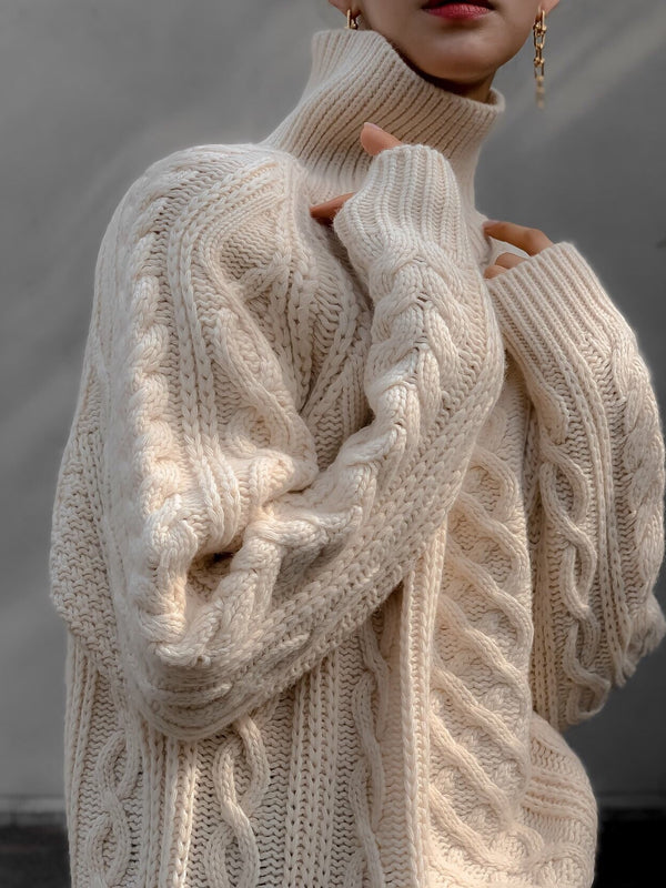 CHUNKY TURTLENECK SWEATER
