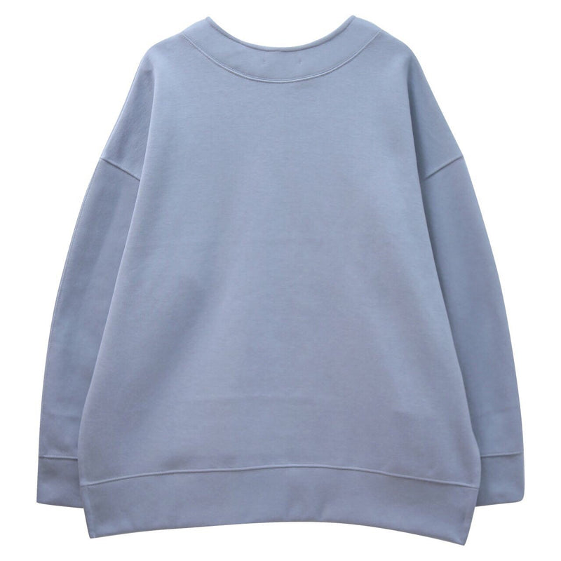 ASYMMETRIC OVERSIZED SWEATSHIRT