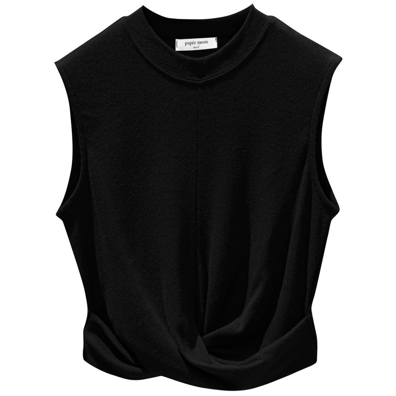 KNOTTED TWIST CROP TANK