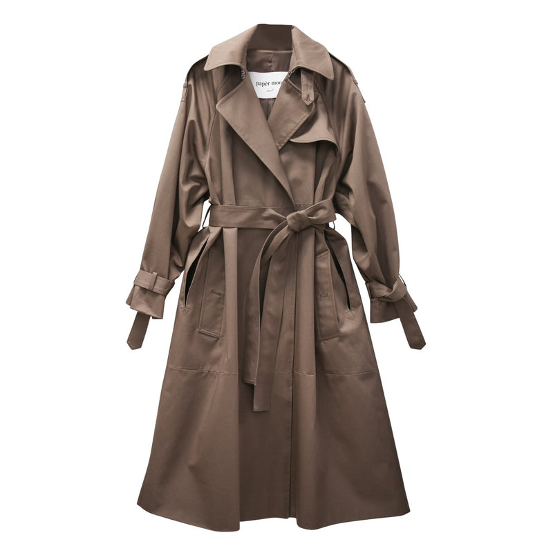 LUXE OVERSIZED TRENCH COAT
