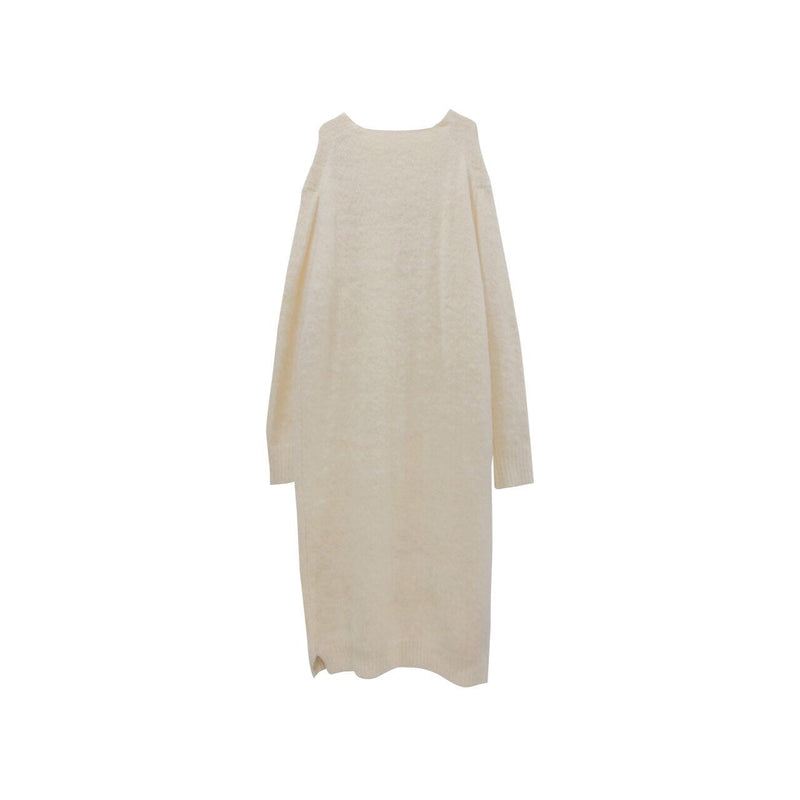 OVERSIZED ALPACA KNIT DRESS