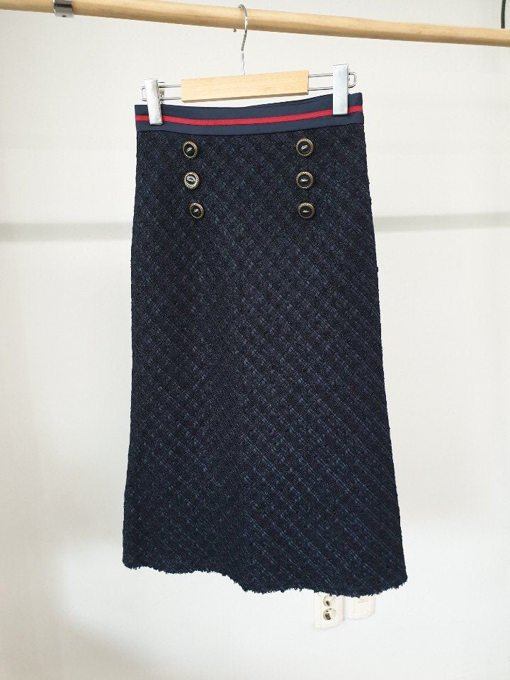 TWEED SAILOR SKIRT