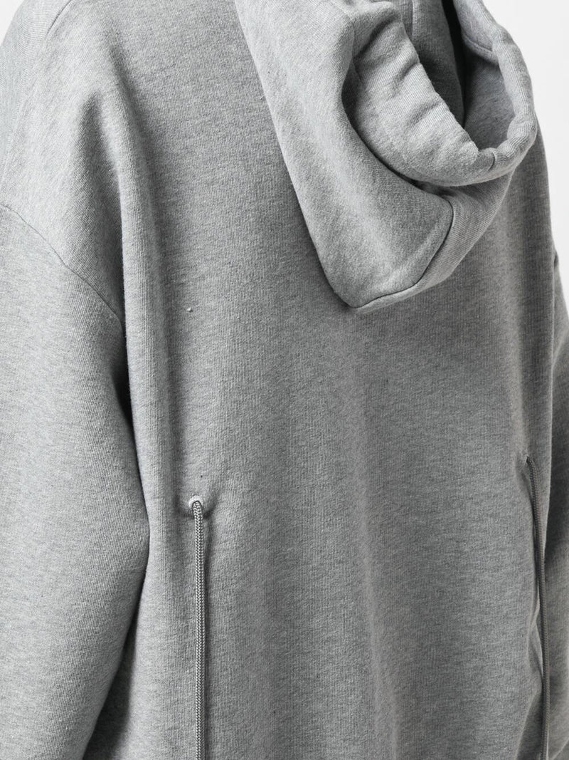 OVERSIZED HOODIE WITH BACK STRING DETAIL