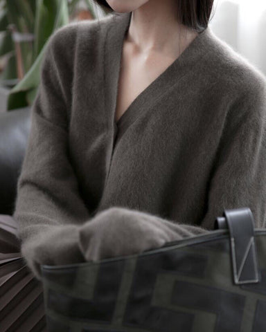 LUXE RACOON CARDIGAN - 5 COLORS