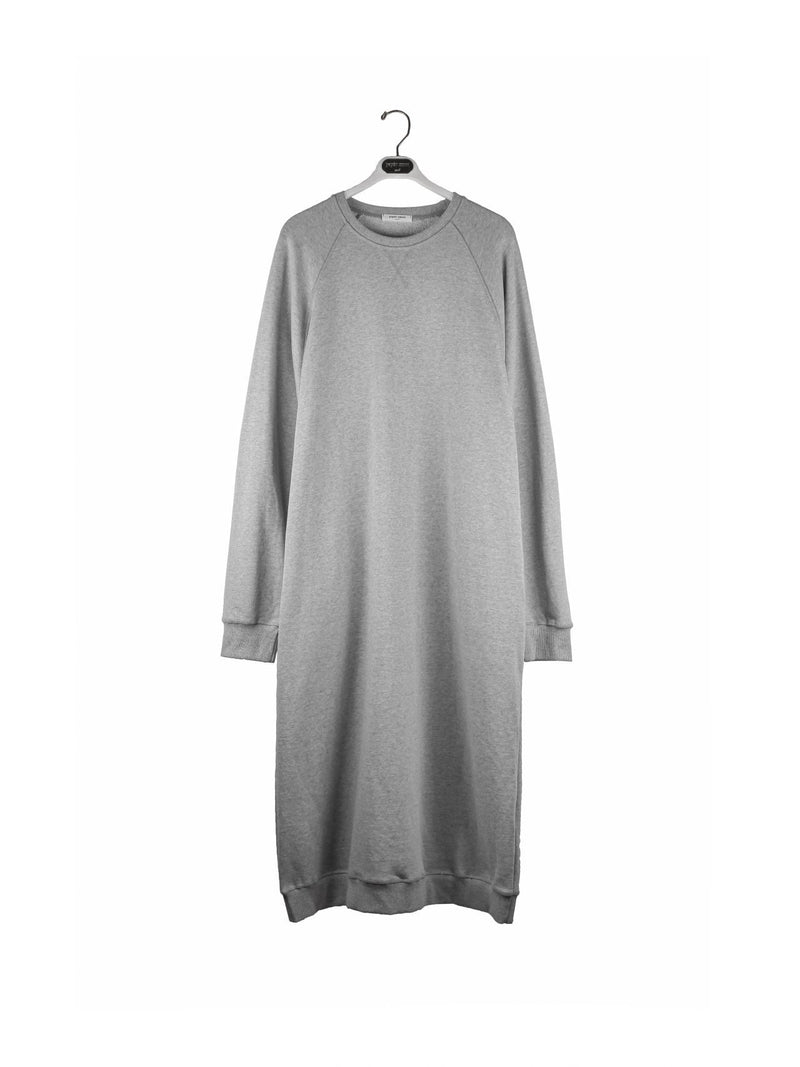 RAGLAN COTTON SWEATSHIRT DRESS