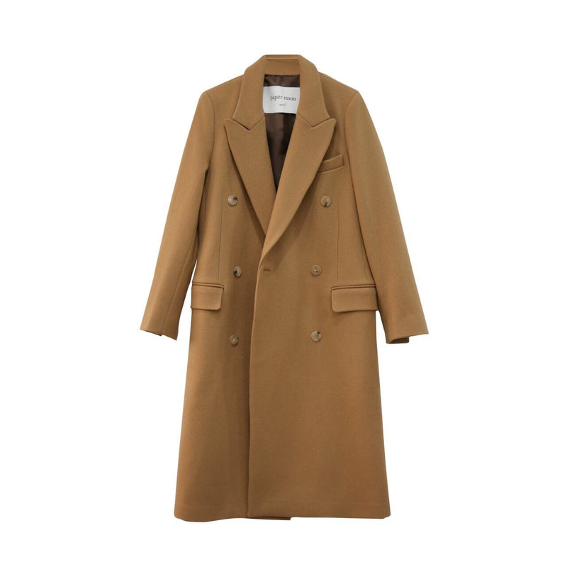 CLASSIC WOOL DOUBLE BREASTED COAT