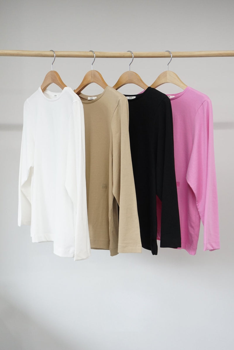 TOTEM COTTON LONG SLEEVE T-SHIRT
