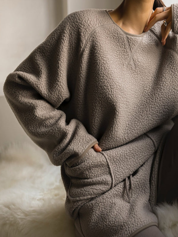 COTTON COMFY POCKET DETAIL SWEATSHIRT