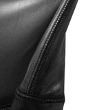 LEATHER BIKE SHORTS