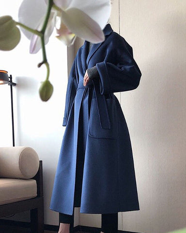 [EDITOR'S PICK] LUXE CASHMERE COAT - 4 COLORS