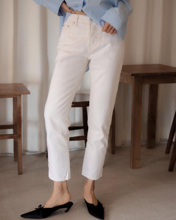 ORGANIC NATURAL FIT JEANS