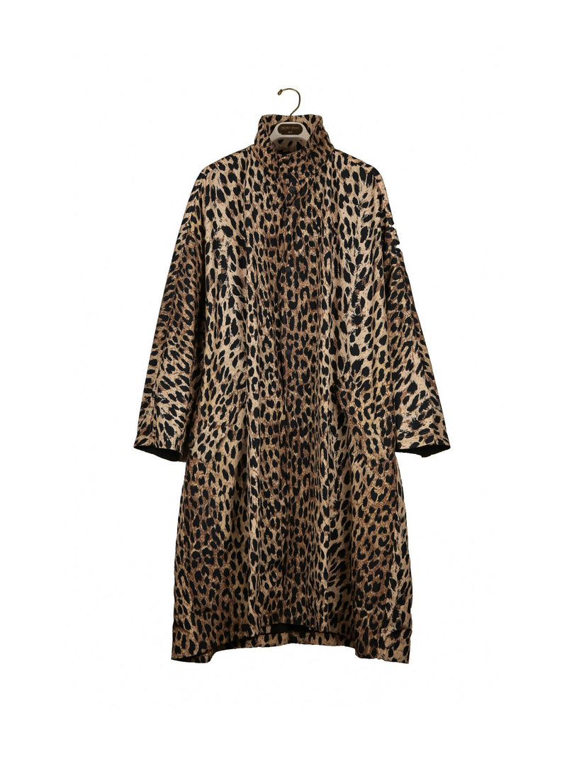 LEOPARD OVERSIZED RAINCOAT
