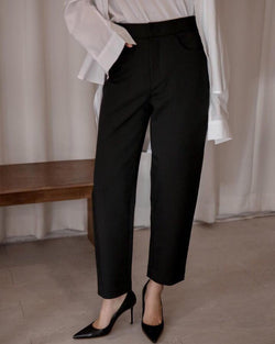 VOLUME SILHOUETTE TROUSERS