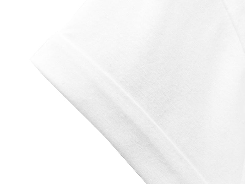 ROLLED SLEEVE COTTON T-SHIRT