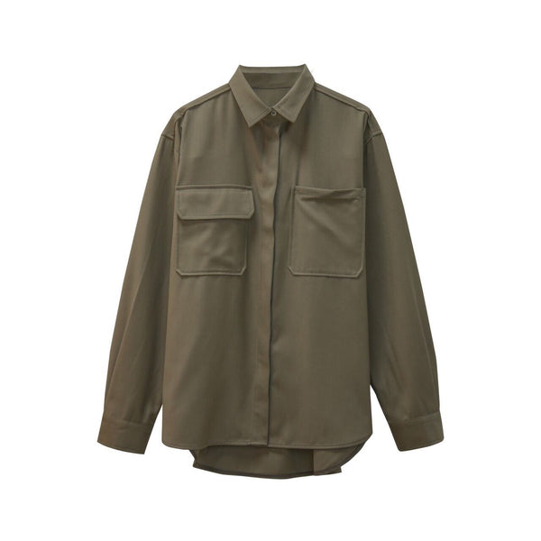 CASHMERE BUTTON DOWN SHIRT
