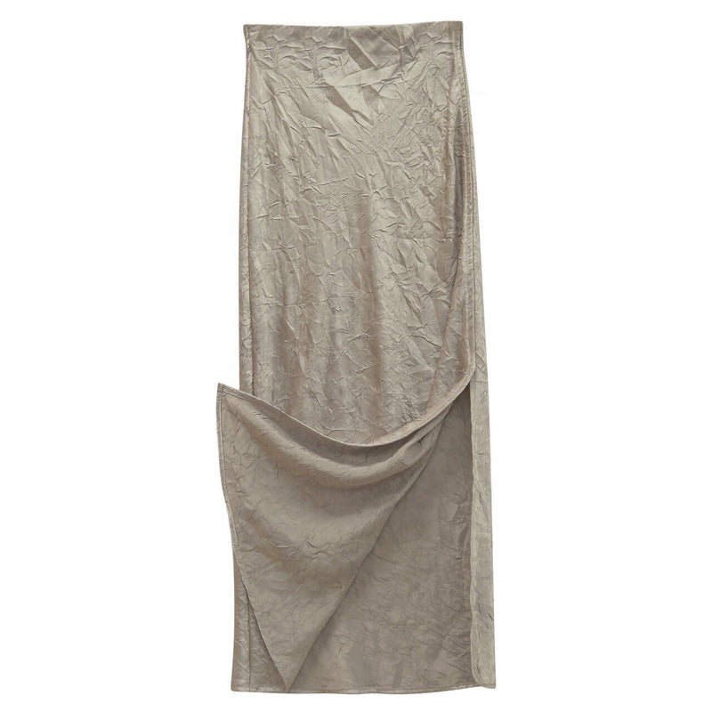LUXE CRINKLE MAXI SKIRT