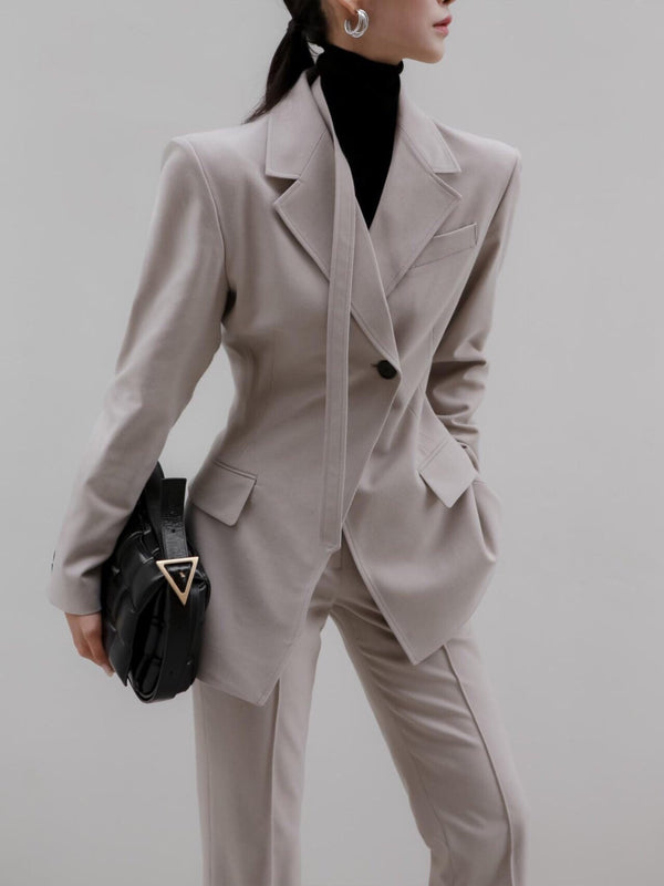 SLIM FIT SUIT BLAZER