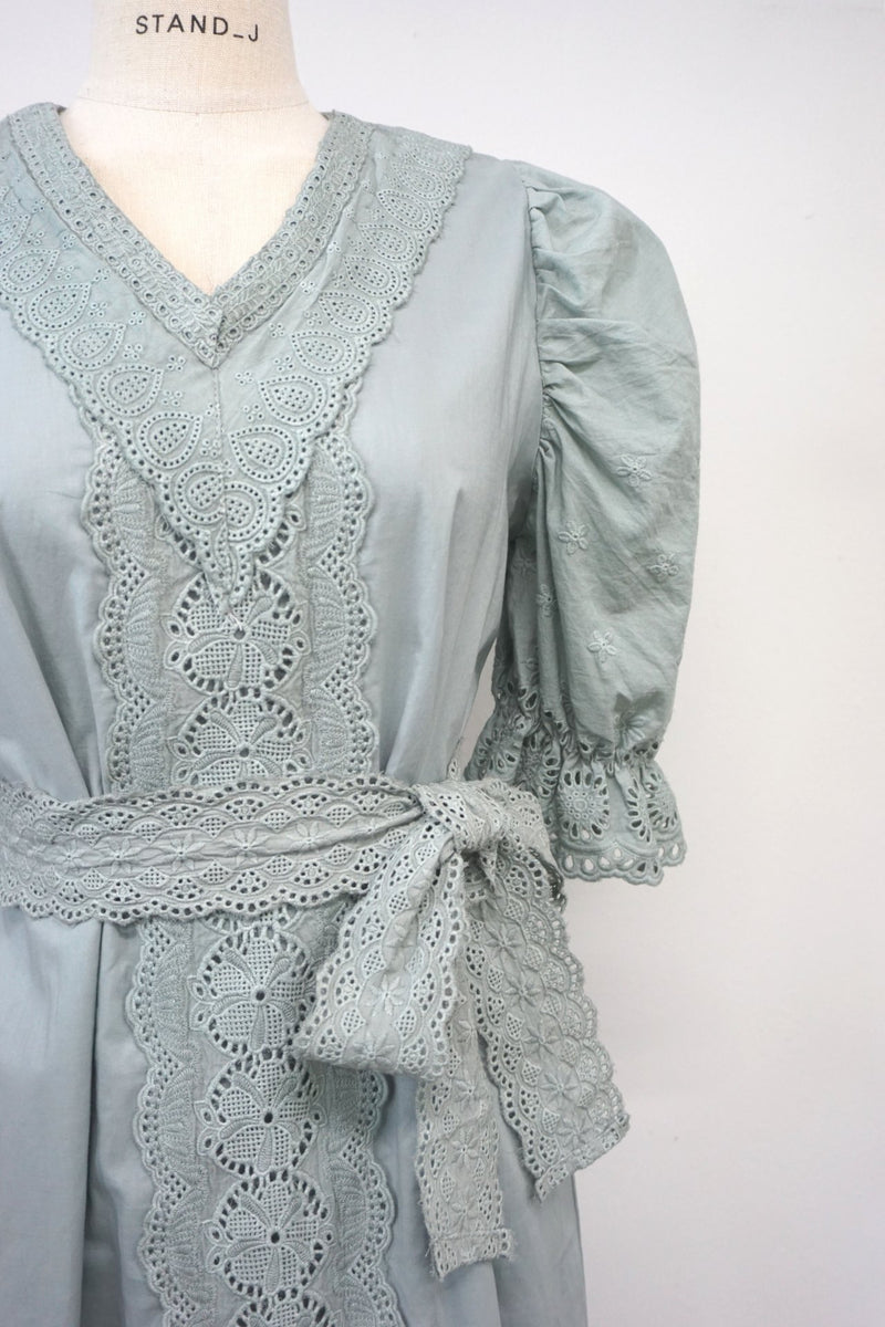 BAROQUE COTTON DRESS