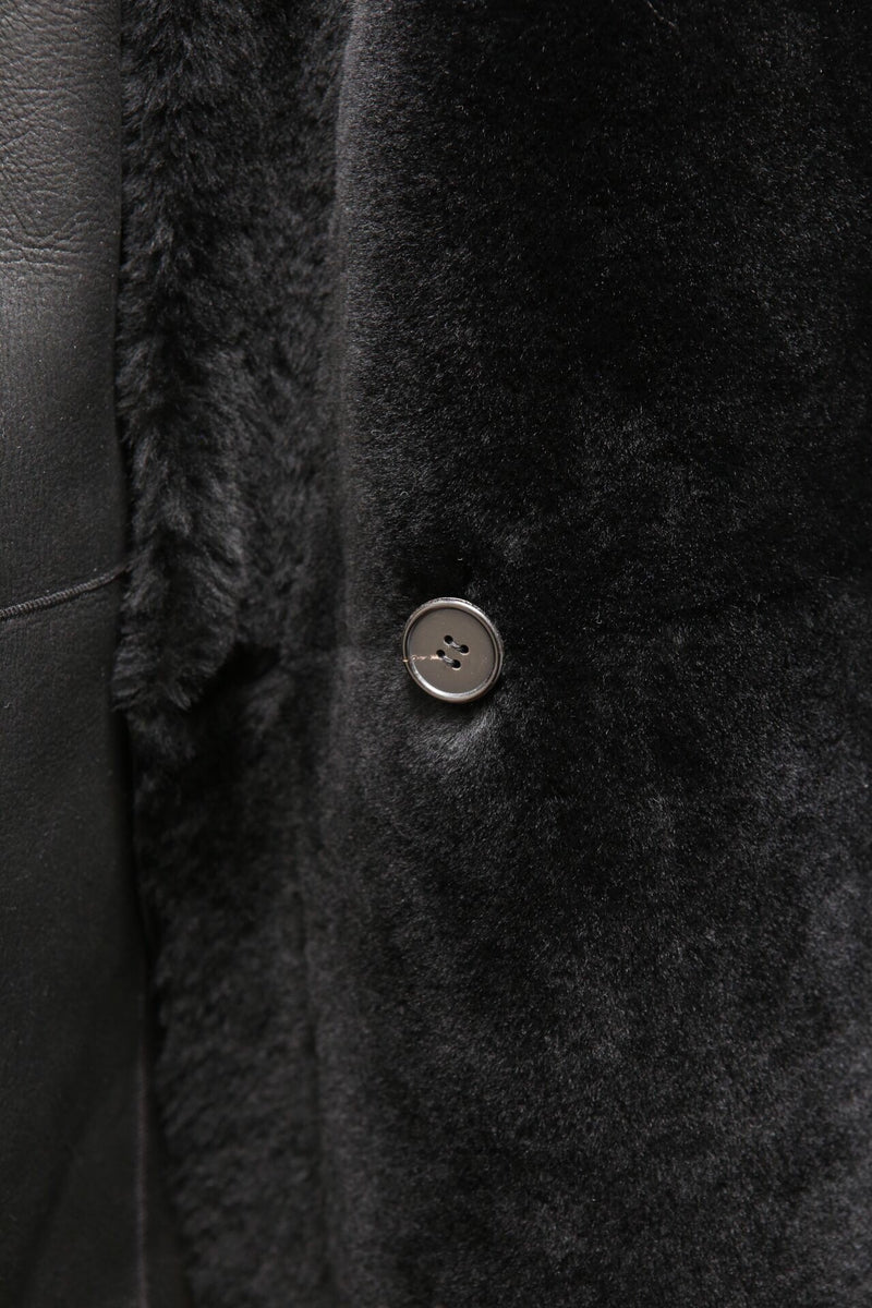 LUXE REVERSIBLE SHEARLING COAT