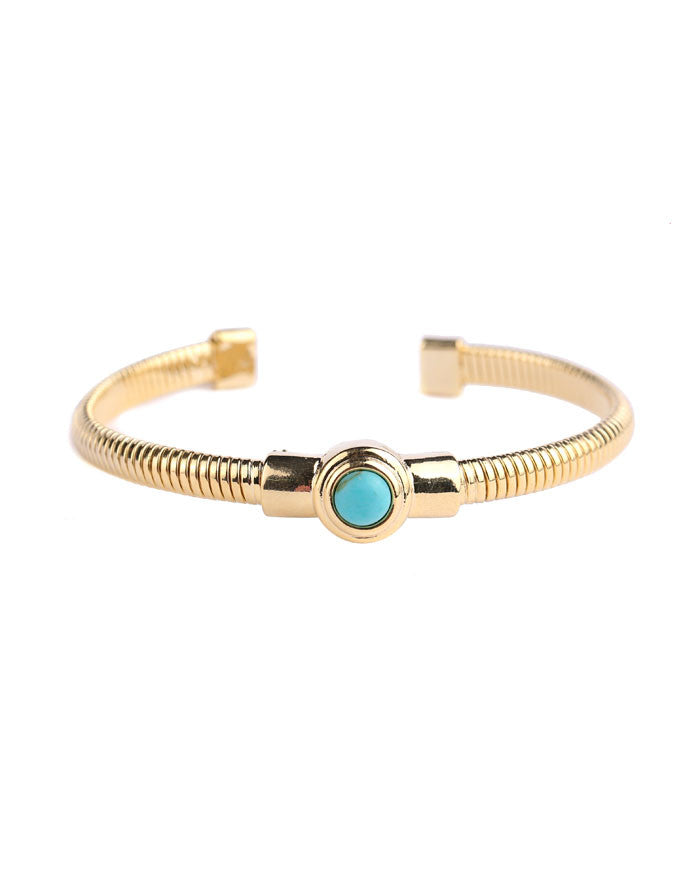TURQUOISE TENSION BANGLE