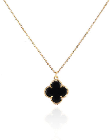 VC CLOVER CHARM NECKLACE