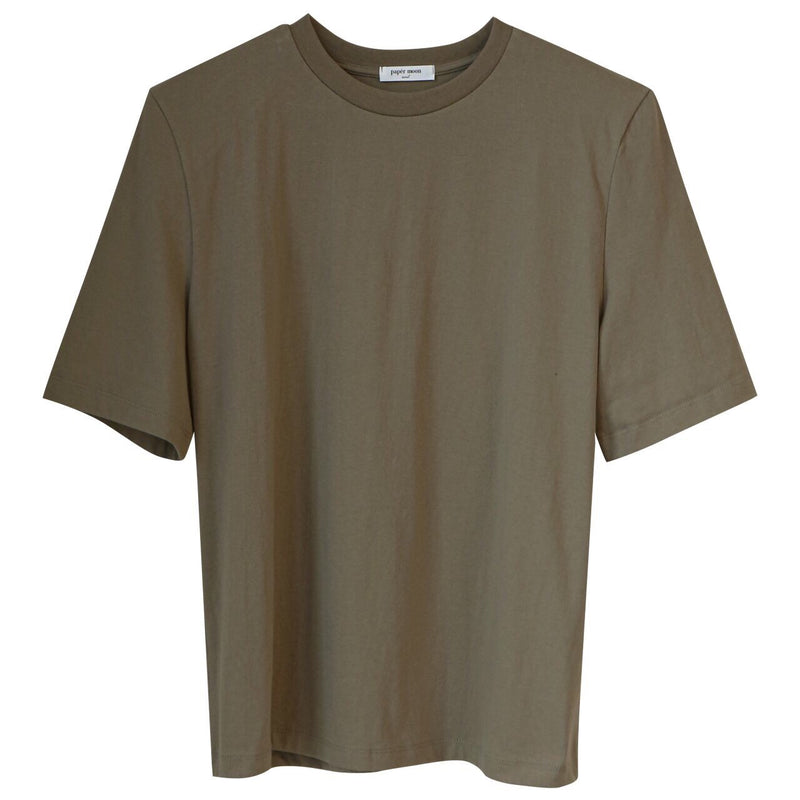 PADDED SHOULDER HALF SLEEVE T-SHIRT