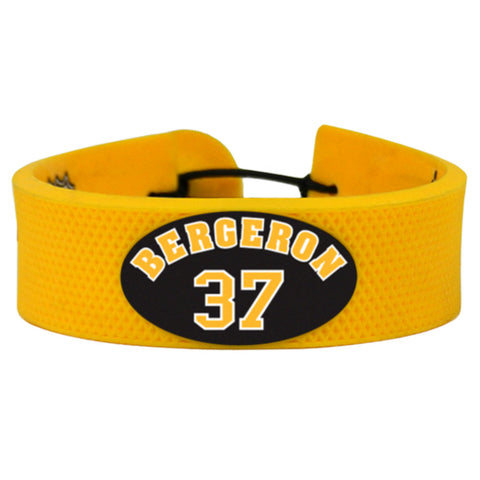 Boston Bruins Bracelet Team Color Jersey Patrice Bergeron Design