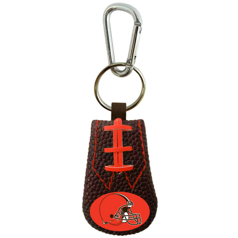 Cleveland Browns Keychain Team Color Football