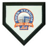 New York Mets Authentic Hollywood Pocket Home Plate - Shea Stadium Final Season Logo